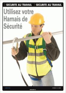 Travail en hauteur port des quipements de protection - Formation travail en hauteur port du harnais ...
